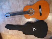 Childs Acoustic Guitar & Case in Ex Cond
