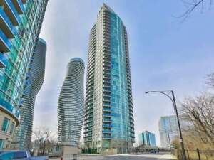 2 Bed / 2 Bath Condo Apt In Central Mississauga