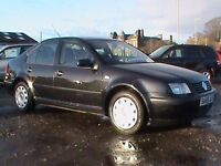 VOLKSWAGEN BORA S 1.9 TDI BLACK MOT 1 YR CLICK ONTO VIDEO LINK FOR MORE INFORMATION ABOUT THIS CAR