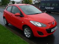 Mazda 2 1.3i 16V 86BHP TS2 **Full Service History** (red) 2010