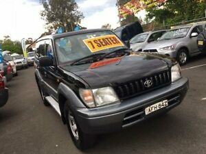 1997 Toyota Landcruiser Prado VZJ95R GXL (4x4) Black 5 Speed Manual 4x4 Wagon Campbelltown Campbelltown Area Preview