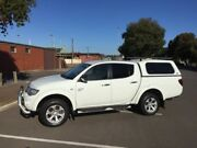 2010 Mitsubishi Triton MN MY10 GLX-R (4x4) 5 Speed Manual 4x4 Double Cab Utility Clarence Gardens Mitcham Area Preview