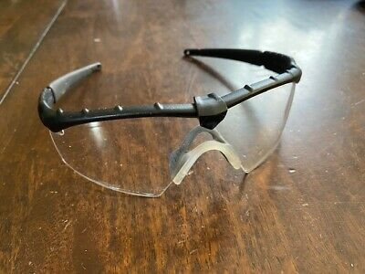 Oakley Sunglasses Ballistic M Frame 2.0 Matte Black w/ Clear Lens