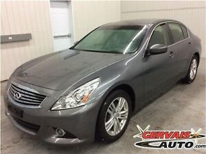 Infiniti G25 Luxury Cuir A/C MAGS 2012
