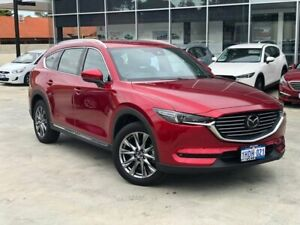 2019 Mazda CX-8 KG4W2A Asaki SKYACTIV-Drive i-ACTIV AWD Red 6 Speed Sports Automatic Wagon Palmyra Melville Area Preview