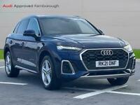 2021 Audi Q5 40 Tdi Quattro S Line 5Dr S Tronic Auto Estate Diesel Automatic
