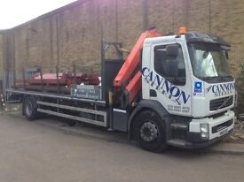 Lorry Driver - HGV Class 2 with hiab license required by busy steel fabricator in Enfield.
