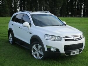 2012 Holden Captiva CG Series II MY12 7 AWD LX White 6 Speed Sports Automatic Wagon Gepps Cross Port Adelaide Area Preview