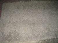Urban Barn Shag Carpet 4Ft by 6Ft grey