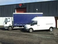 CPC COURIER DRIVER & VEHICLE FOR PALLET PARCEL PACKAGE COLLECTION DELIVERY HAULAGE