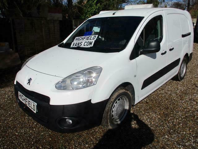 0c0e7884dd 2012 Peugeot Partner 1.6HDi 5 seater Crew Van S L2 NO VAT 130K GENUINE