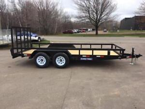"NEW 2019 SURE-TRAC 82"" x 16' HD LANDSCAPE TRAILER"