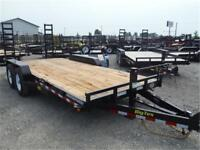 14K - 7 x 18 Equipment Trailer *NO PAYMENTS FOR 90 DAYS OAC*