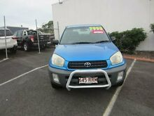 2002 Toyota RAV4 ACA21R Edge Blue 4 Speed Automatic Wagon Buderim Maroochydore Area Preview