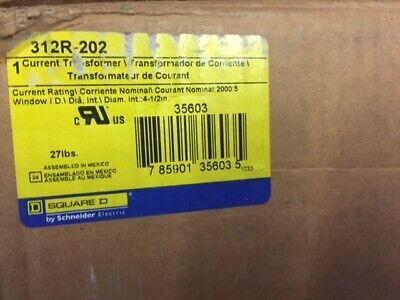 Square D 312r202 Transformer Current 20005mr 4-12 New