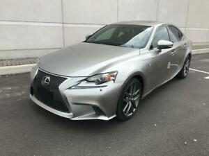 2015 LEXUS IS 250 AWD|LOW KMS| F SPORTS PKG|NAVI|BACK UP CAMERA!