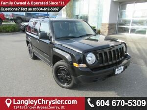 2016 Jeep Patriot Sport/North <B>*ACCIDENT FREE*LOW KMS*<b>