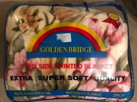 New supersoft large thick blanket