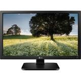 "LG 24MB34PY-B Black 24"" FHD 1080p 5ms Monitor, 250 cd/m2, D-Sub, DVI-D, DP, USB,"