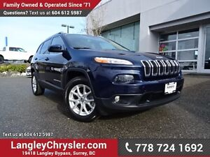 2015 Jeep Cherokee Limited ACCIDENT FREE w/ 4X4 & MULTIPLE TE...