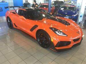 2019 Chevrolet Corvette ZR1 3ZR coupe available Sebring orange