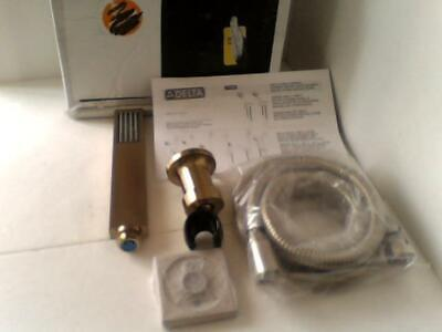 NEW OPEN BOX Delta Faucet 55530-CZ Wall-Mount Hand Shower, Champagne Bronze $264