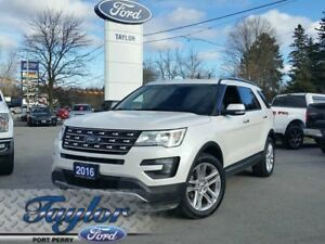 2016 Ford Explorer Limited*LEATHER**NAV**ADAPTIVE CRUISE*