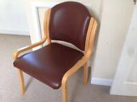 Reception chair.