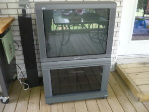 Swap Panasonic TV with Stand for Gas Mower