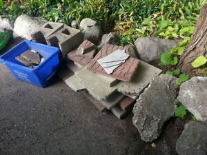 Broken Stone for fill or walkway