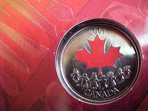 Canada 2001 The Spirit Of Canada Quarter!! London Ontario image 1
