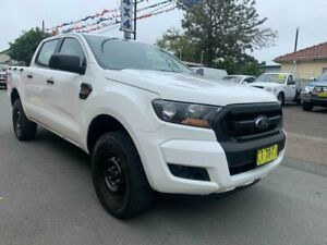 2016 Ford Ranger PX MkII XL 2.2 (4x4) White 6 Speed Automatic Crew Cab Utility Waratah Newcastle Area Preview