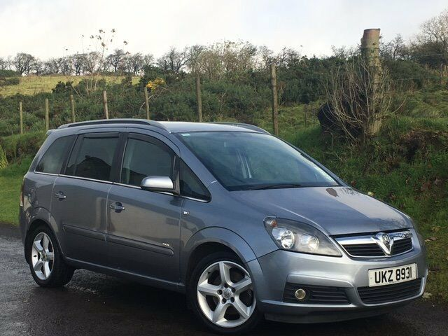 2006 VAUXHALL ZAFIRA 1.9 CDTI 150bhp SRI DIESEL 7 SEATER SERVICE HISTORY MOTD EXCELLENT CONDITON