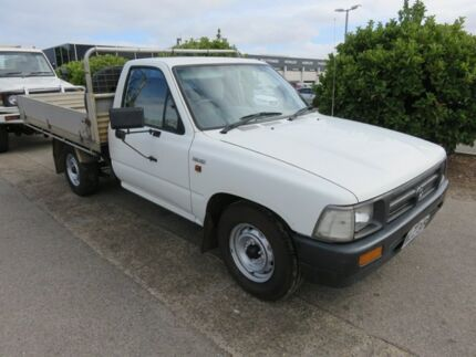 1995 Toyota Hilux White 5 Speed Manual Single Cab Reynella Morphett Vale Area Preview