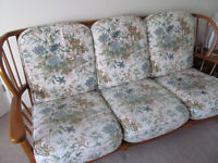 Cottage style settee