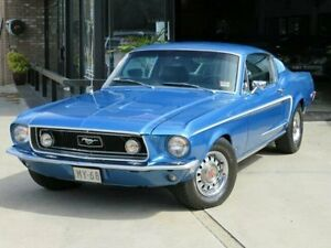 1968 Ford Mustang Blue Sapphire Manual Fastback Dandenong Greater Dandenong Preview