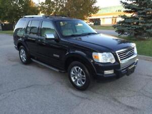 2006 FORD EXPLORER LIMITED 4X4*LEATHER*7PASS*MOON*