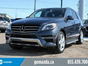 2013 Mercedes-Benz M-Class BLUE TEC LEATHER SUNROOF BLIND SPOT