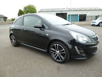Vauxhall Corsa BLACK EDITION (black) 2014-09-16