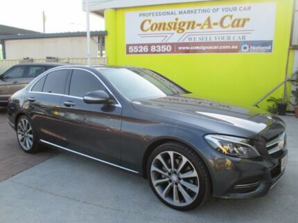 2015 Mercedes-Benz C250 W205 806MY 7G-Tronic + Grey 7 Speed Sports Automatic Sedan