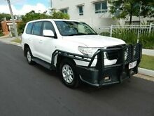 2009 Toyota Landcruiser VDJ200R GXL White 6 Speed Sports Automatic Wagon Redcliffe Redcliffe Area Preview