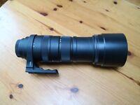 Sigma 150-500 mm F5-6.3 APO DG OS Canon fit