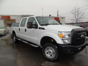 2011 FORD F250 XLT 4X4 QUAD CAB SHORT BOX