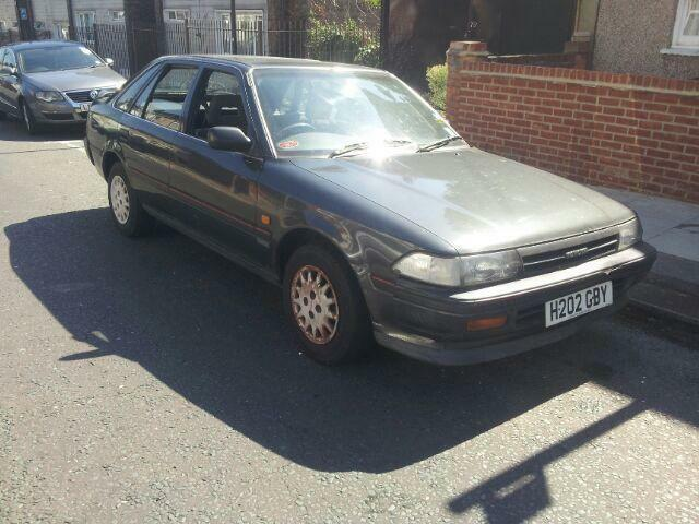 Toyota Carina 1.6 XL 5 door hatchback 1991 h reg, mot 2017 excellent runner