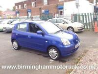 2004 (54 Reg) Kia Picanto 1.1 LX AUTOMATIC 5DR Hatchback BLUE + LOW MILES