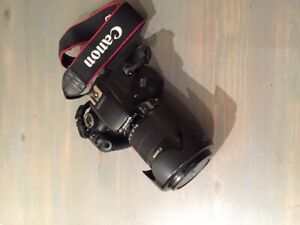 Canon rebel t2i 550d + 18-135 EF-S + 50mm + bag ...