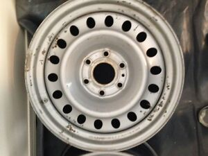 """Four 18"""" Steel Wheels with TPMS"""