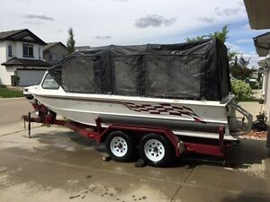 "20 FT COBRA CUSTOM WELD RIVER BOAT"" AWESOME RIDE"""