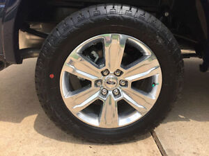 """20"""" Wheels and tires off a 2016 F150 Platinum, like New"""