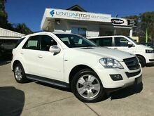 2010 Mercedes-Benz ML300 CDI W164 MY10 BlueEFFICIENCY White 7 SPEED Semi Auto Wagon Southport Gold Coast City Preview